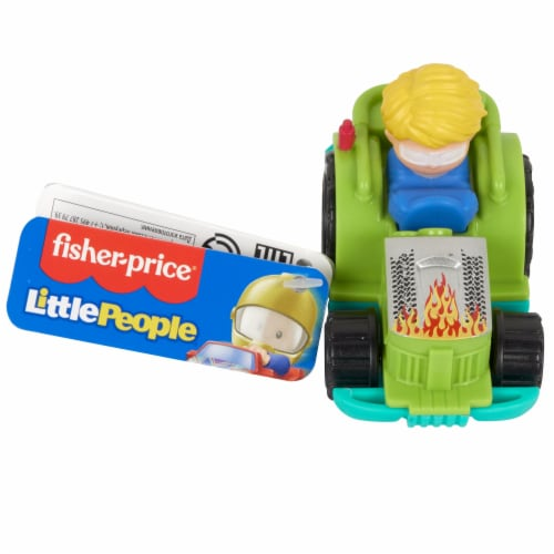Fisher-Price® Little People Wheelies Racing Tractor Vehicle Perspective: bottom