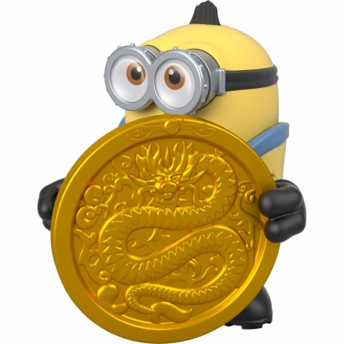 Fisher Price Despicable Me Minions: Rise of Gru Imaginext Otto with Coin Mini Figure Perspective: bottom