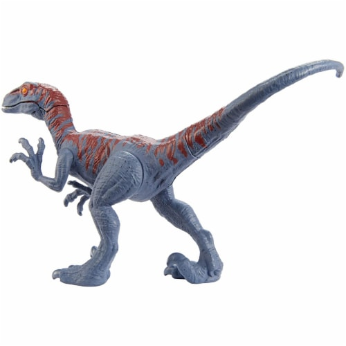 Jurassic World Attack Pack Velociraptor Figure Perspective: bottom
