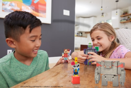 Mattel Minecraft Dungeon Nameless One & Hal Figure Set Perspective: bottom