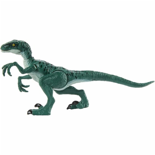 Jurassic World Attack Velociraptor Delta Figure Perspective: bottom