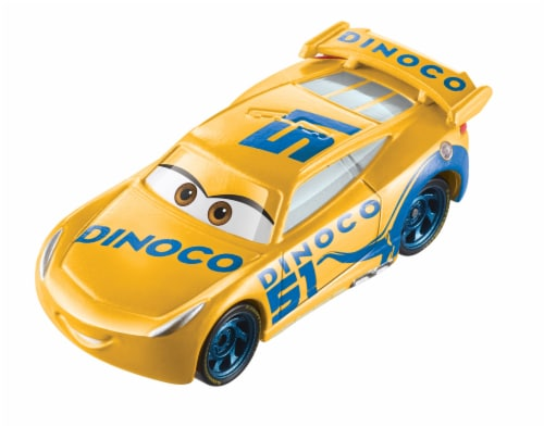 Mattel Disney Pixar Cars Dinoco Cruz Ramirez Color Changers Car Perspective: bottom