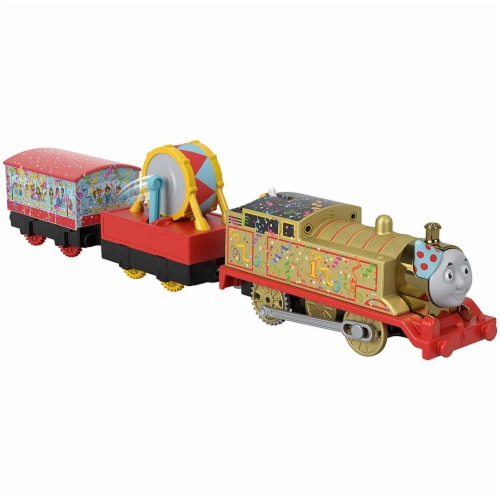 Thomas and Friends Golden Thomas Motorized Train Perspective: bottom