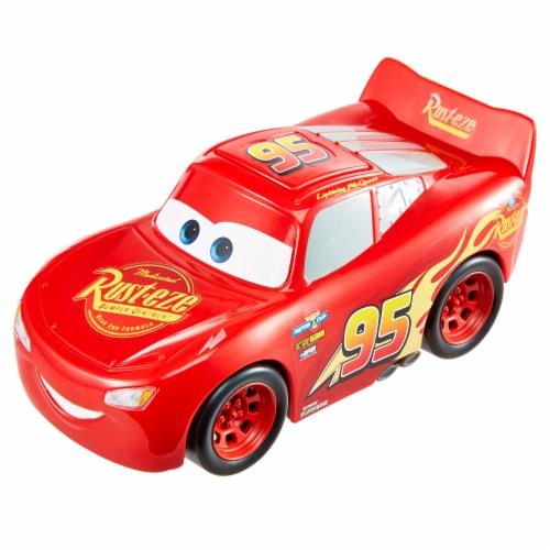 Mattel Disney Pixar Cars Track Talkers Lightning McQueen Vehicle Perspective: bottom
