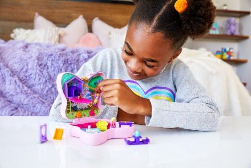 Mattel® Polly Pocket™ Backyard Butterfy Compact Playset Perspective: bottom