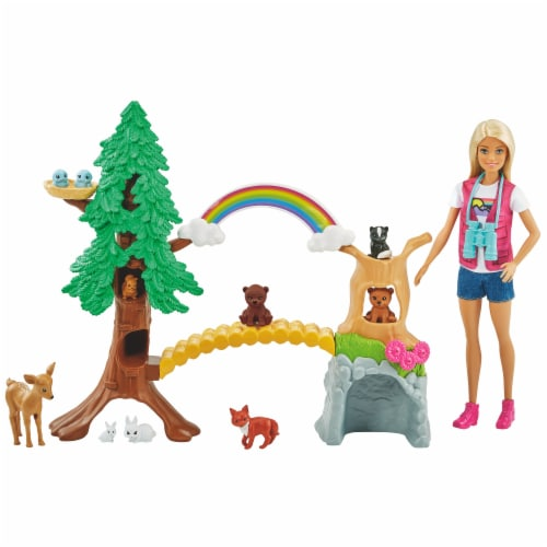 Barbie Wilderness Guide Interactive Play Set Perspective: bottom