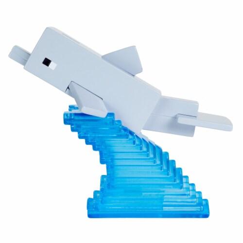 Mattel Minecraft Dolphin Figure Perspective: bottom
