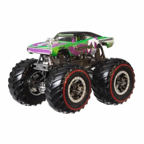 Mattel Hot Wheels® Monster Truck Dodge Charger Wheeled Vehicle Perspective: bottom