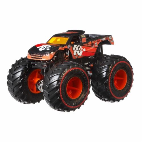 Mattel Hot Wheels® Monster Trucks Rodger Dodger Pro Race Wheeled Vehicle Perspective: bottom