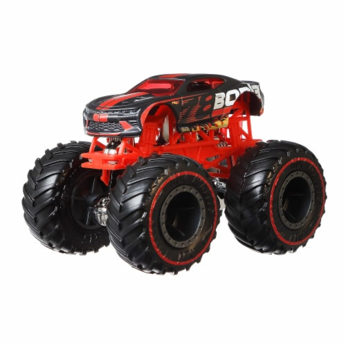Mattel Hot Wheels® Monster Trucks Camaro Pro Race Wheeled Vehicle Perspective: bottom