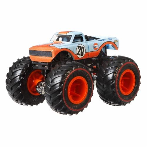 Mattel Hot Wheels® Monster Trucks Pure Muscle Pro Race Wheeled Vehicle Perspective: bottom