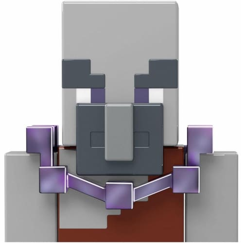 Minecraft Dungeons 3.25-in Collectible Geomancer Battle Figure and Accessories Perspective: bottom