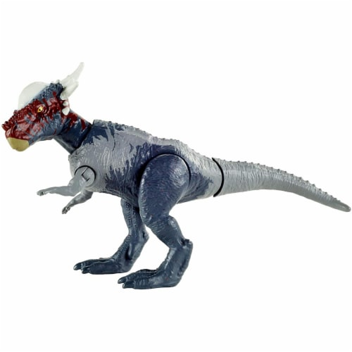 Mattel® Jurassic World Savage Strike Stygimoloch Stiggy Dinosaur Perspective: bottom
