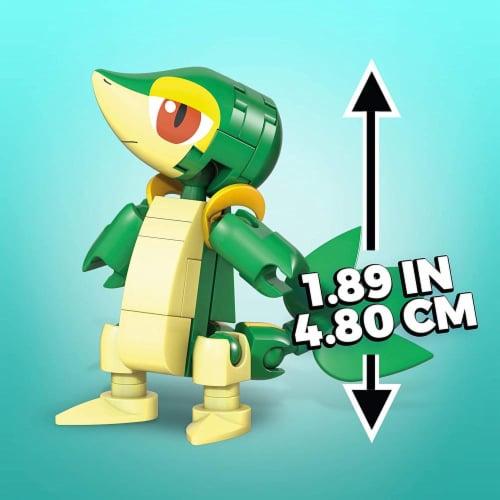 Mega Construx Pokemon Snivy Construction Set, Building Toys for Kids Perspective: bottom