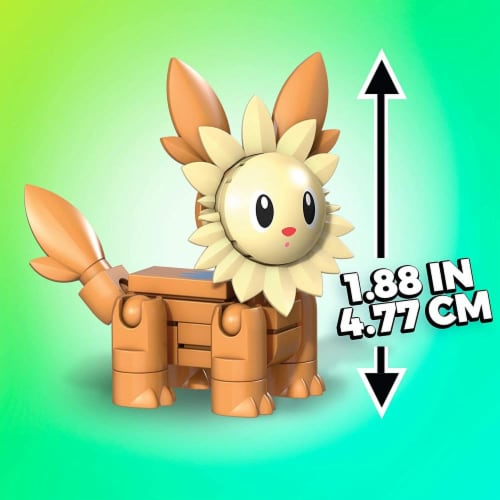 Building Toys for Kids Mega Construx Pokemon Lillipup Construction Set
