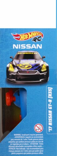 Mattel Hot Wheels® Remote-Controlled Nissan and Controller Perspective: bottom
