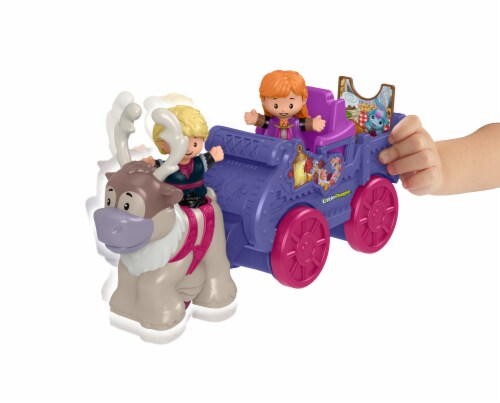 Fisher-Price® Little People Disney Frozen Anna and Kristoff Wagon Perspective: bottom
