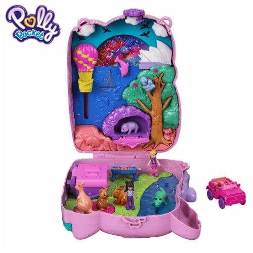 Mattel Polly Pocket Koala Adventures Purse Playset Perspective: bottom
