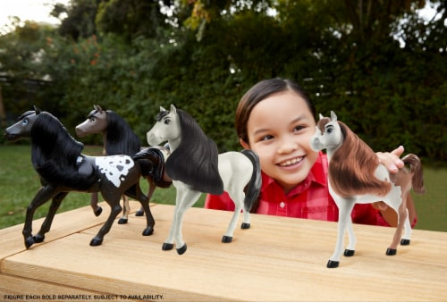 Mattel DreamWorks Spirit Untamed Horse - Assorted Perspective: bottom