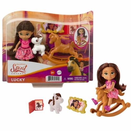 Mattel Spirit Untamed Lucky Doll Perspective: bottom