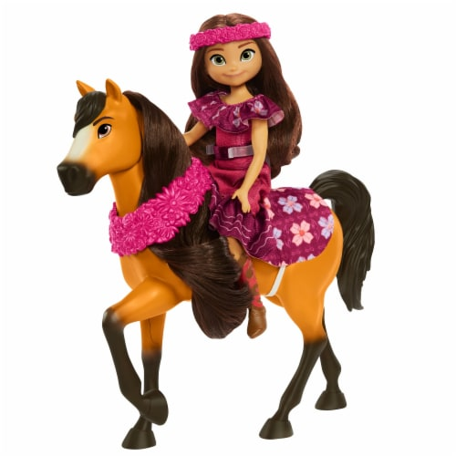 Mattel Spirit Untamed Miradero Festival Lucky and Spirit Playset Perspective: bottom