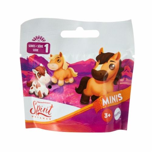 Mattel Spirit Untamed Mini Horse Figures - Assorted Perspective: bottom