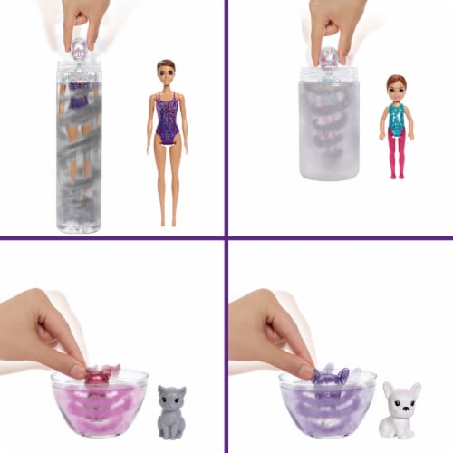 Mattel Barbie® Color Reveal Surprise Party Dolls and Accessories Perspective: bottom