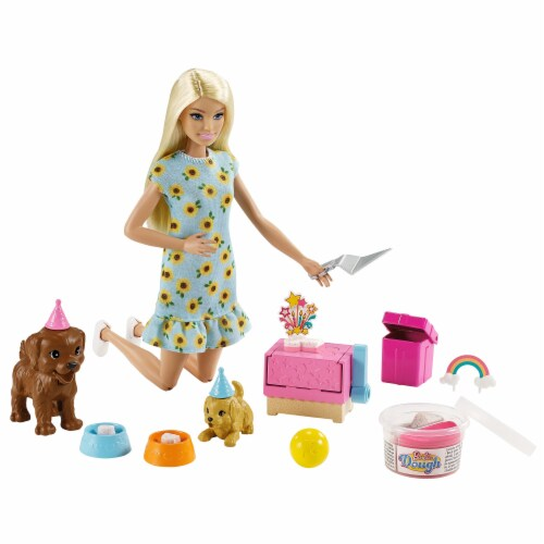 Mattel Barbie® Puppy Party Doll and Playset Perspective: bottom