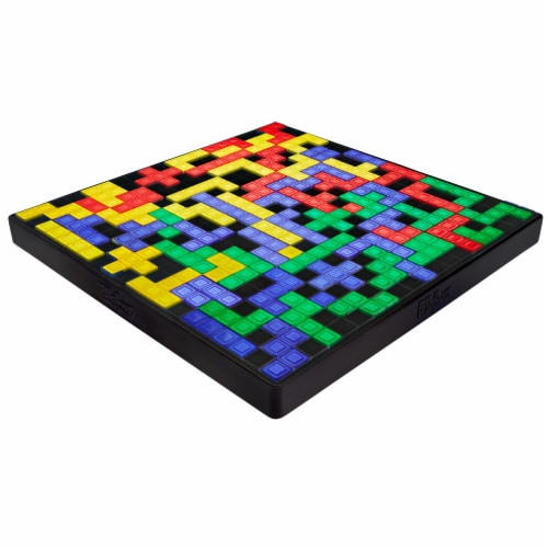 Mattel Blokus Shuffle Uno Edition Board Game Perspective: bottom
