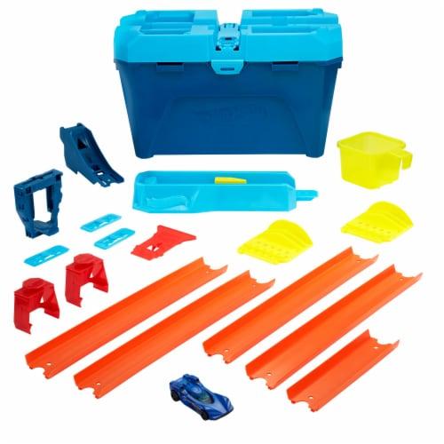 Mattel Hot Wheels Track Builder Unlimted Triple Loop Kit Perspective: bottom