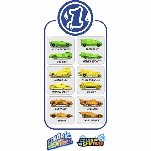 Mattel Hot Wheels Color Reveal Car Toys Perspective: bottom