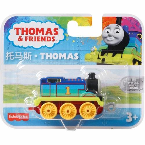 Thomas & Friends Metal Engine: Thomas Multicolor Engine Perspective: bottom