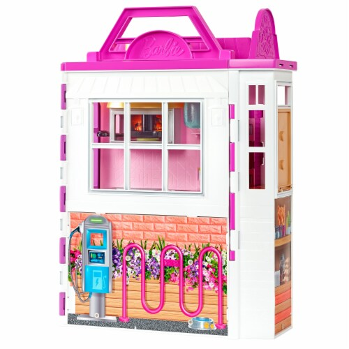 Mattel Barbie® Cook 'n Grill Restaurant Doll and Playset Perspective: bottom