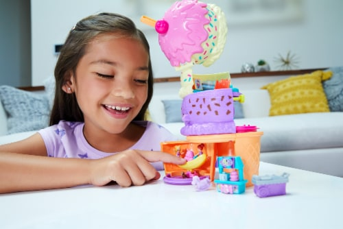 Mattel® Polly Pocket™ Spin 'N Surprise Playground Perspective: bottom