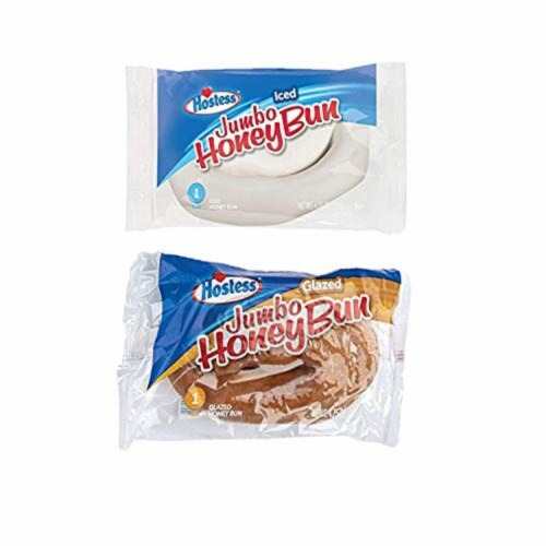 Hostess Variety Pack | Honey Buns, Coffee Cake, Donettes, Cakes, and Danish | 12 Packs Perspective: bottom