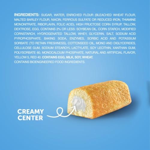 Hostess Twinkies Golden Sponge Cakes Perspective: bottom