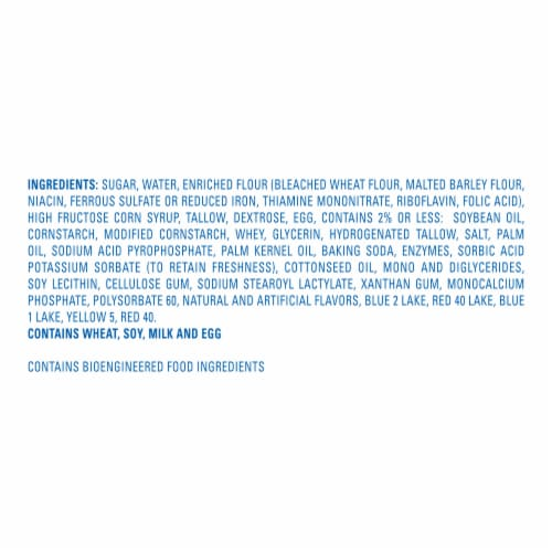 Hostess Red White & Blue Twinkies Perspective: bottom