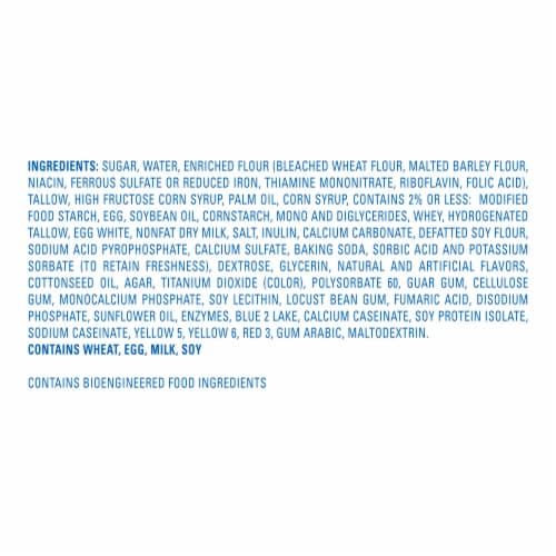 Hostess Spring Limited Edition Vanilla CupCakes Perspective: bottom