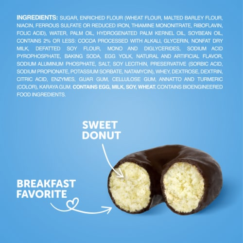 Hostess Snack Pack Frosted Donettes Donuts 8 Count Perspective: bottom