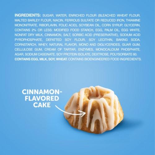 Hostess Cinnamon Swirl Baby Bundt Cakes Perspective: bottom
