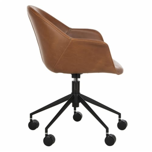 Ember Office Chair Cognac Perspective: bottom