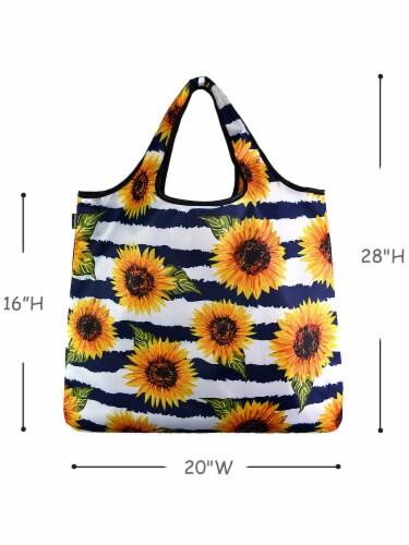 YaYBag Jumbo Reusable Bags (Set of 3), Carefree Perspective: bottom