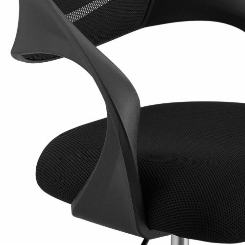 Thrive Mesh Drafting Chair - Black Perspective: bottom