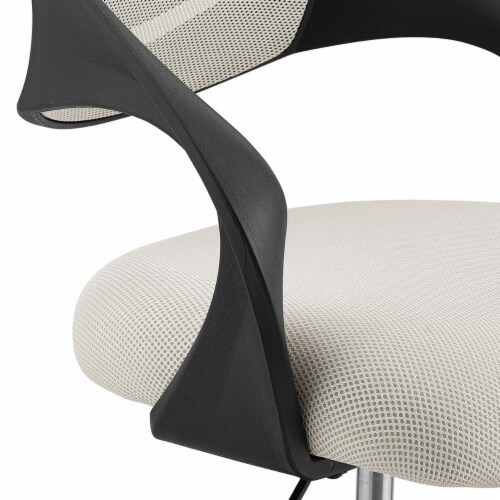 Thrive Mesh Drafting Chair - Gray Perspective: bottom