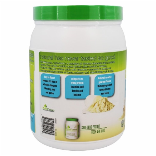 PlantFusion Complete Plant Protein Cookies N' Creme, 1 lb. Perspective: bottom