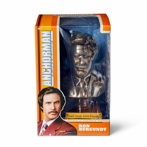 "Anchorman 7"" Bust: Ron Burgundy Perspective: bottom"