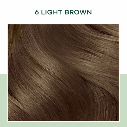 Clairol Healthy Looking Natural Instincts 6 Light Brown Hair Color Perspective: bottom