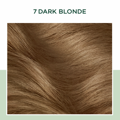 Clairol Healthy Looking Natural Instincts 7 Dark Blonde Hair Color Perspective: bottom