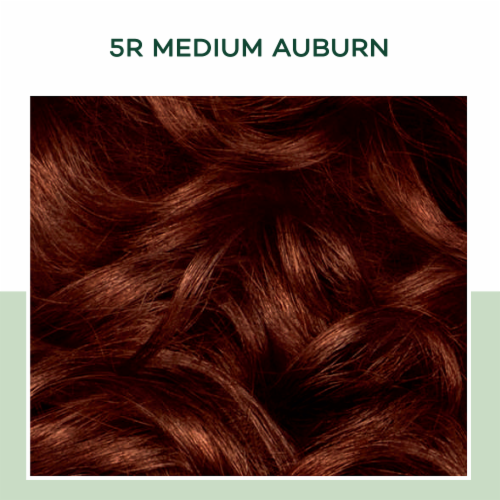 Clairol Healthy Looking Natural Instincts 5R Medium Auburn Hair Color Perspective: bottom