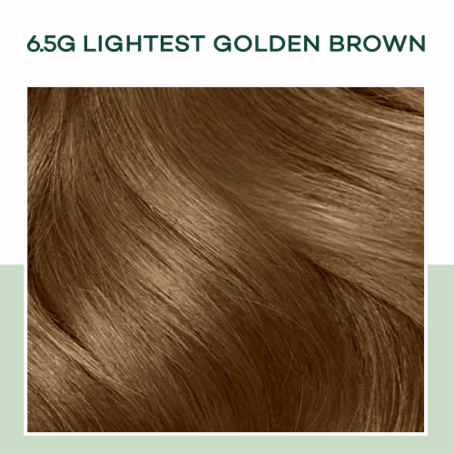 Clairol Healthy Looking Natural Instincts 6.5G Lightest Golden Brown Hair Color Perspective: bottom